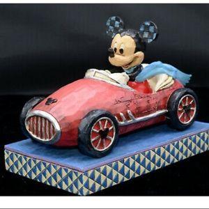 Disney Jim Shore * ROADSTER MICKEY * Mickey Mouse